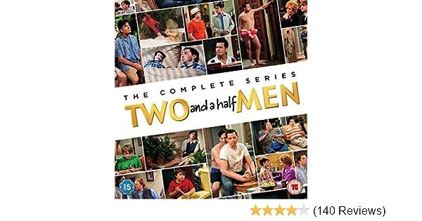 Amazon.com: Two and a Half Men (Complete Series) - 41-DVD Box Set (2 & a 1/2 Men - Seasons 1-12)  [ NON-USA FORMAT, PAL, Reg.2 Import - United Kingdom ]: ...