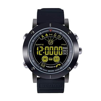 C-Xka Reloj inteligente, IP68 Deportes al aire libre impermeables Relojes inteligentes para hombres