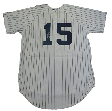 detailed look 37f9b b0885 Shelley Duncan Autographed New York Yankees Pinstripe Jersey ...
