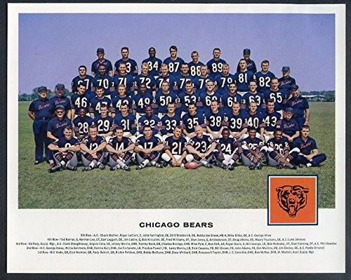 1962 Tang NFL Team Photos Chicago Bears NR-MT 343829 Kit Young - Photo Chicago Bears Team