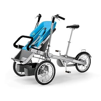 Amazon.com : Taga Bike & Stroller (Orange) : Jogging Strollers : Baby