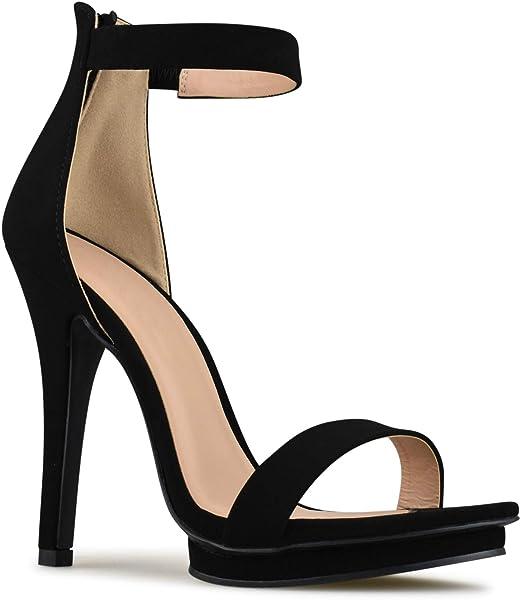 1b001c221b3d Premier Standard - Women s Strappy Kitten High Heel - Formal