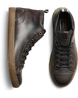JACK & JONES Jfwspider PU Sneaker, Scarpe da Ginnastica Basse Uomo, Marrone (Java), 41 EU