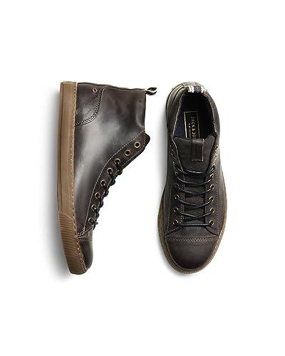 JACK JONES - Homme chaussures duran leather high sneaker 41 marron CKKrSvD