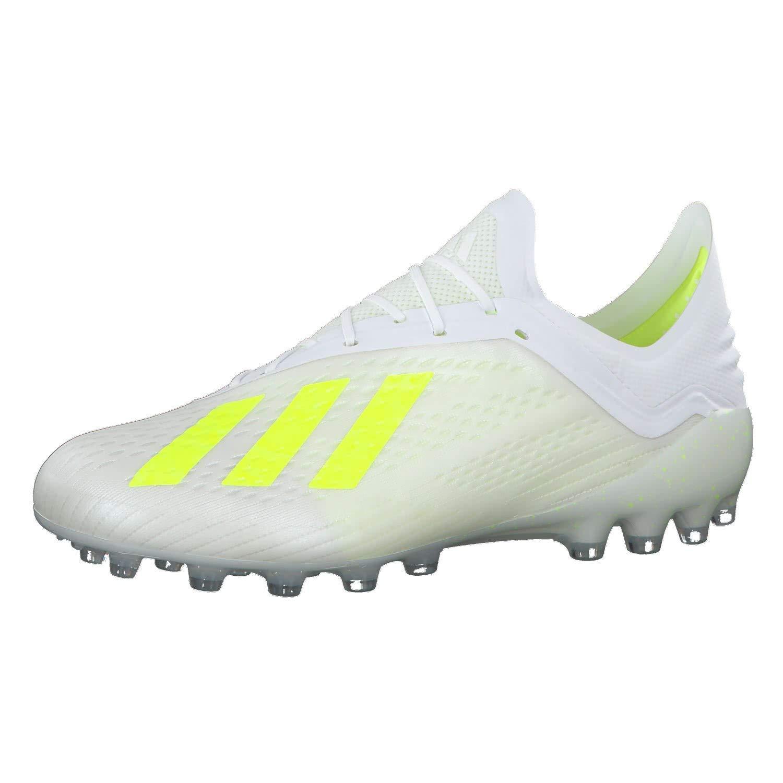 Bota de f/útbol adidas X 18.1 AG White-Solar Yellow-White