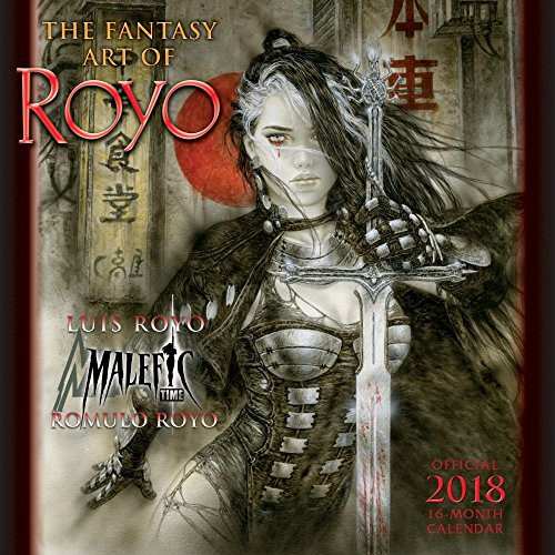 Fantasy Art of Luis Royo 2018 Wall Calendar