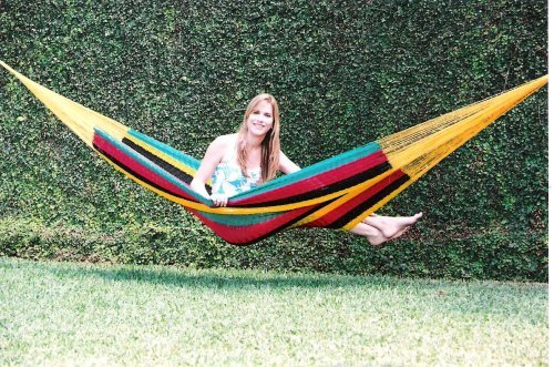 Hammocks Rada TM – Mayan Hammock Single Size Multicolor