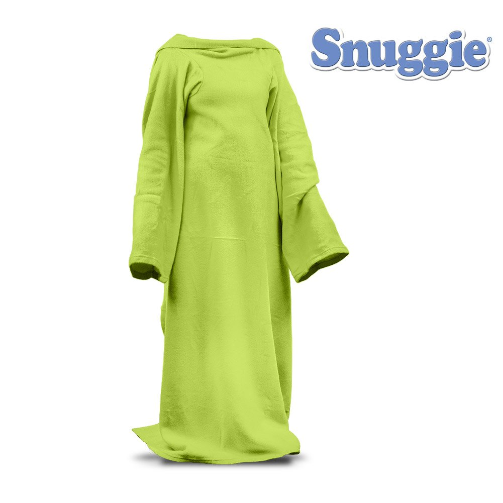 amazoncom snuggie neon green blanket with sleeves for kids   - amazoncom snuggie neon green blanket with sleeves for kids  x  nobox bulk packaging home  kitchen