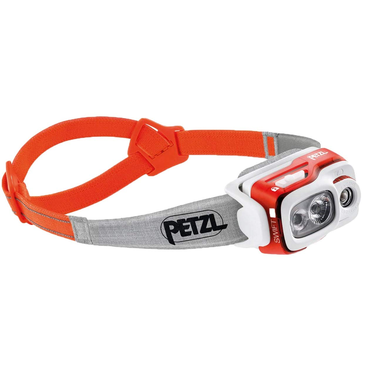 Petzl Swift Rl Multi-Beam Headlamp Orange One Size by PETZL