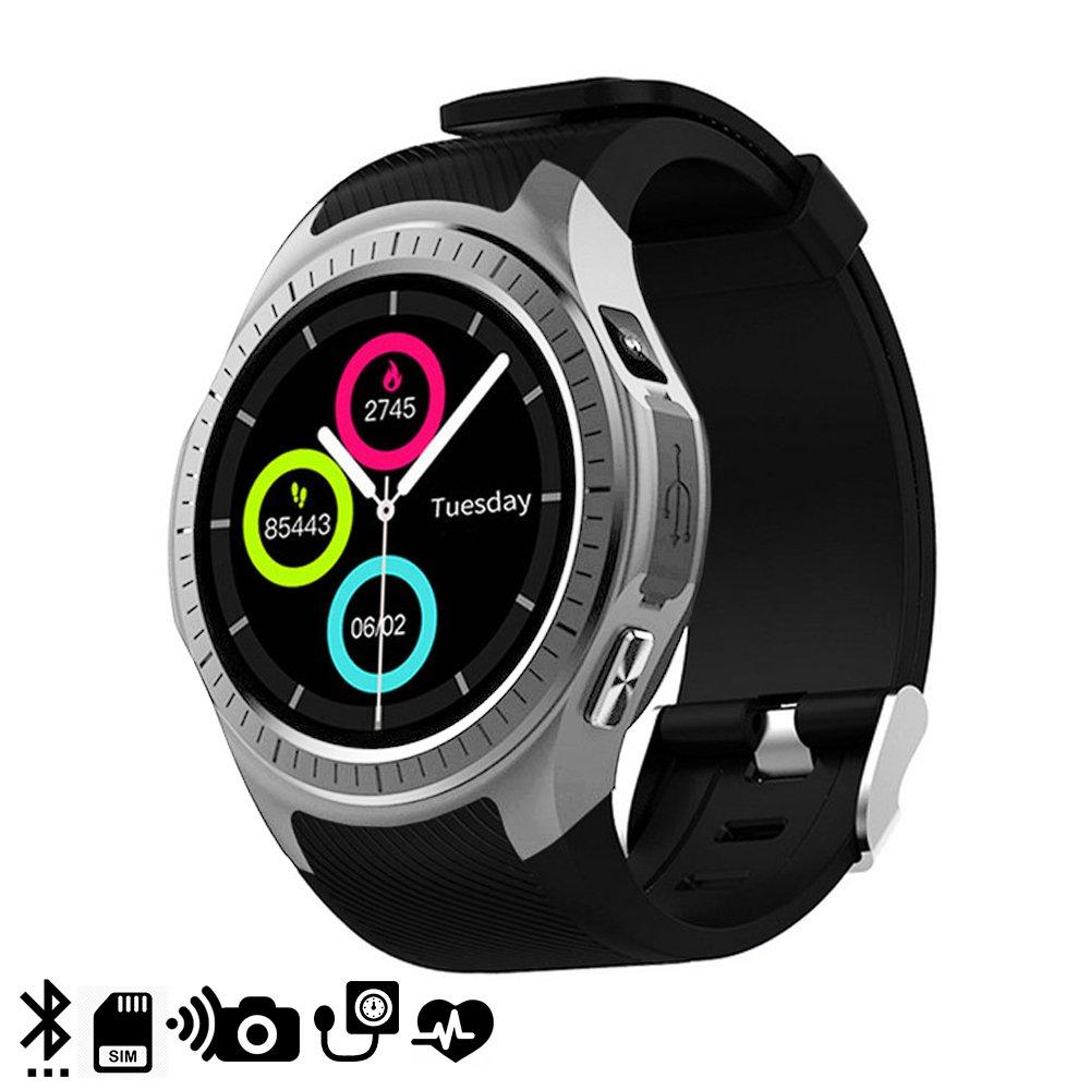 DAM TEKKIWEAR. DMX118SLV. Smartwatch Bluetooth L1 para iOS Y ...