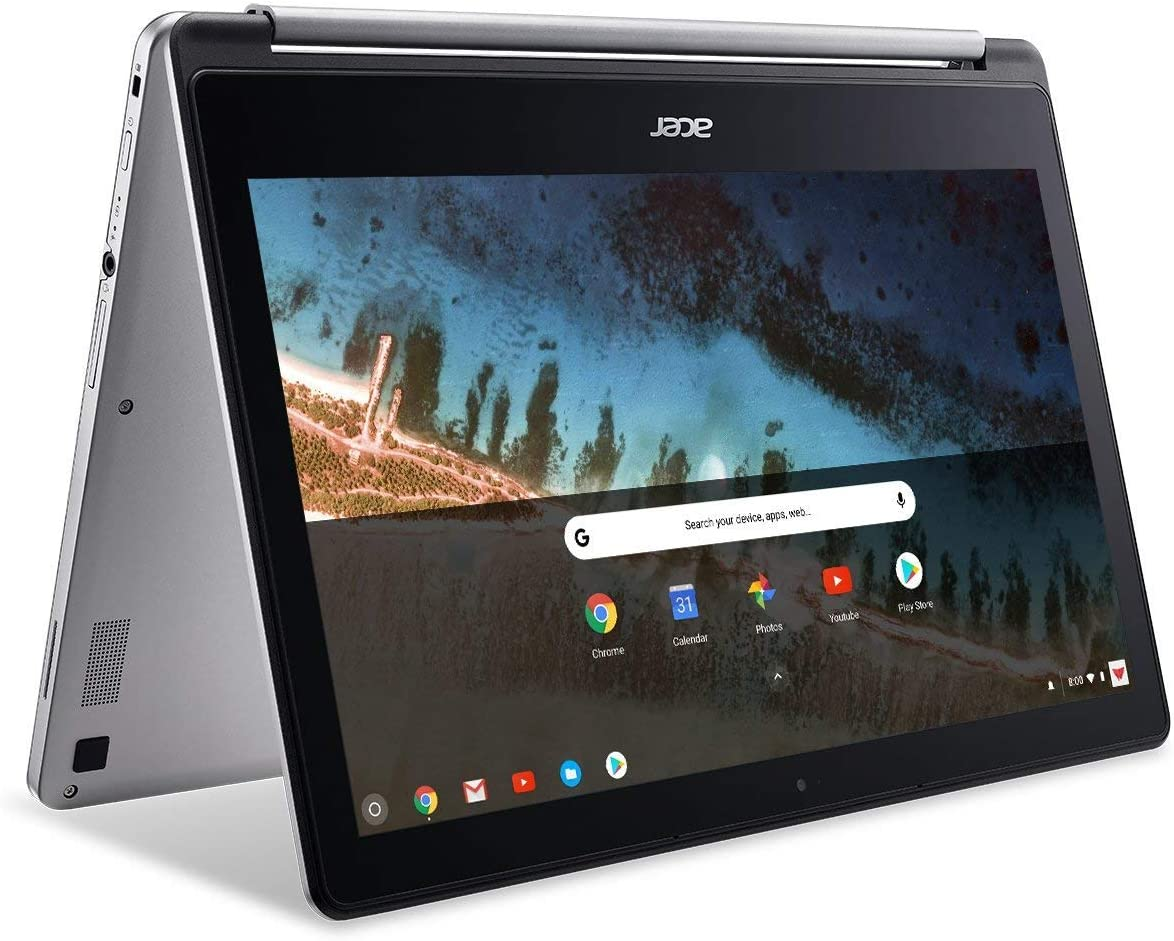 "Acer 13.3inch IPS FHD Touchscreen 2-in-1 Chromebook, MediaTek Quad-core M8173C Processor 2.10GHz, 4GB LPDDR3 RAM, 64GB SSD, HDMI, Chrome OS(Renewed) (13.3""/MT8173C/64GB)"