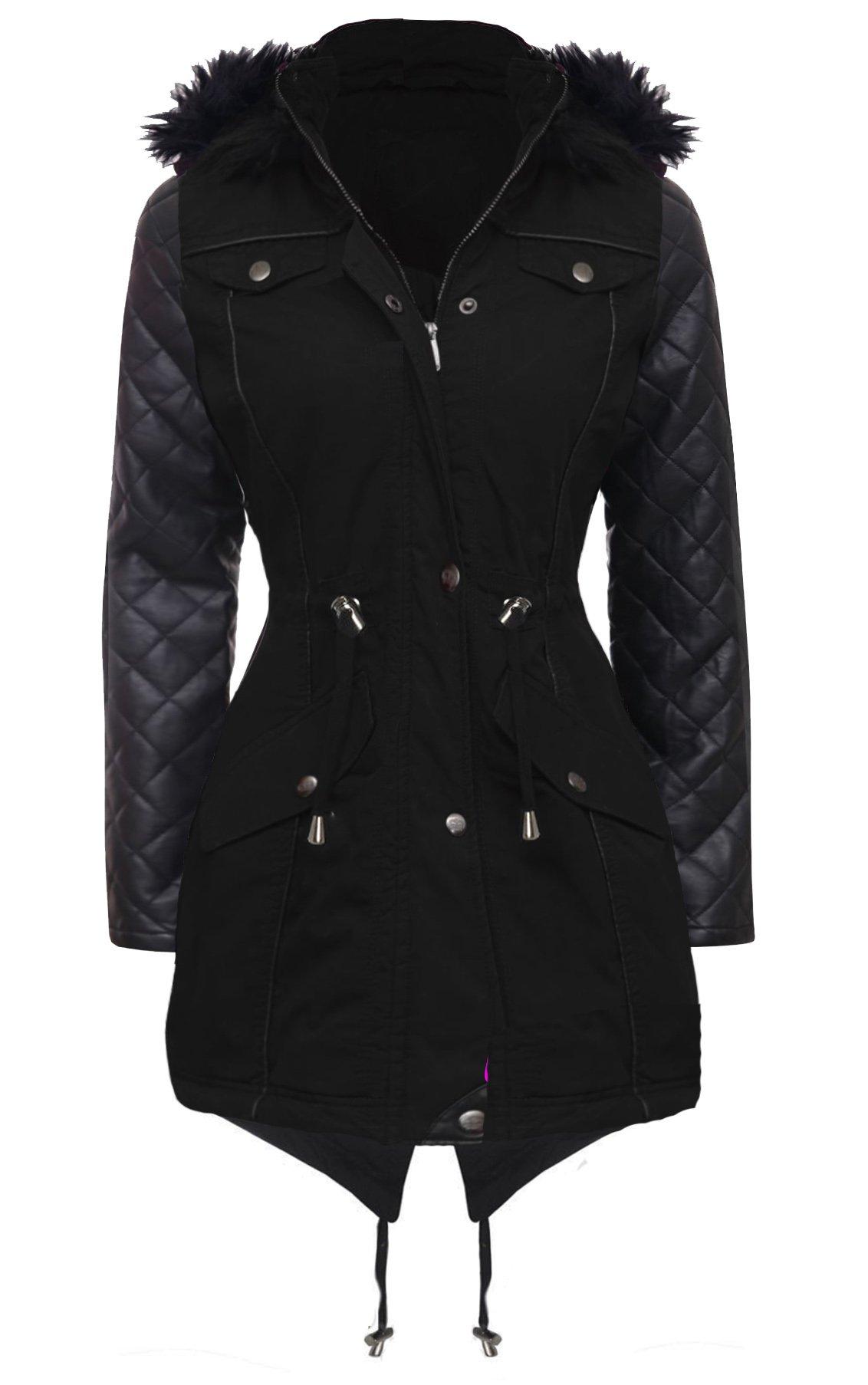 Ladies parka jackets size 20
