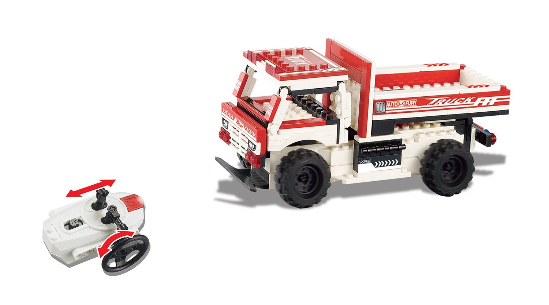 154 pc Unitech Toys UniBlock Remote Control Building Block Car