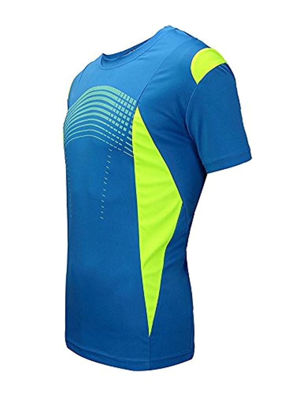 e47cc50cf45d98 SWISSWELL Herren Sport T-Shirt Kurzarm Trikot aus 100% Polyester  Schnell-Trocken Slim größeres Bild