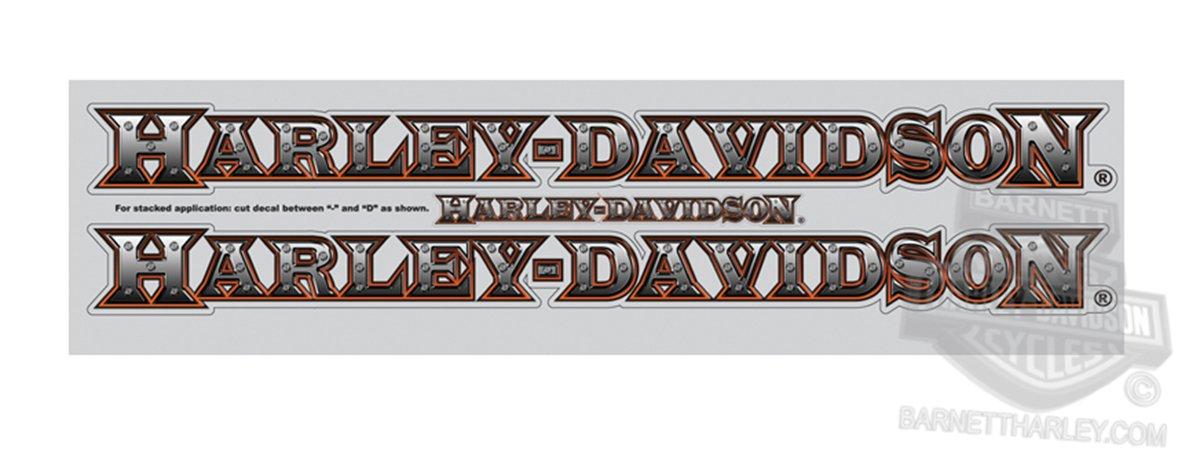 Harley-Davidson Rear Window Graphics Decal Chroma Graphics
