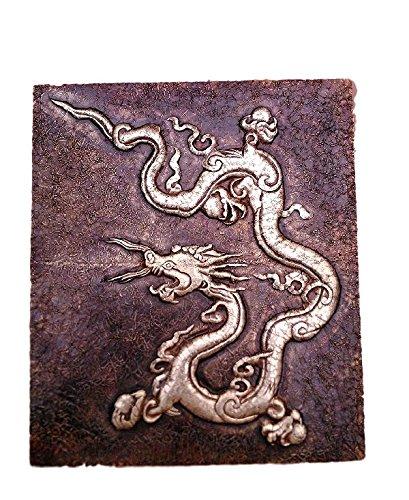 Aalokik Art dragon wall art (Brass Metal cladding ): Amazon.in: Home ...