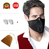 Allergy Mask Anti Pollution Mask Respirator Pollen Mask with Activated Carbon Dust Mask Anti Allergy Woodworking