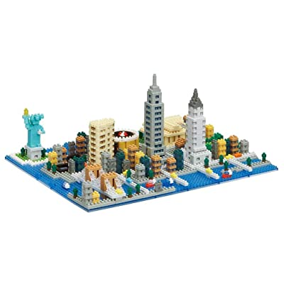 Nanoblock New York Skyline Building Set: Toys & Games