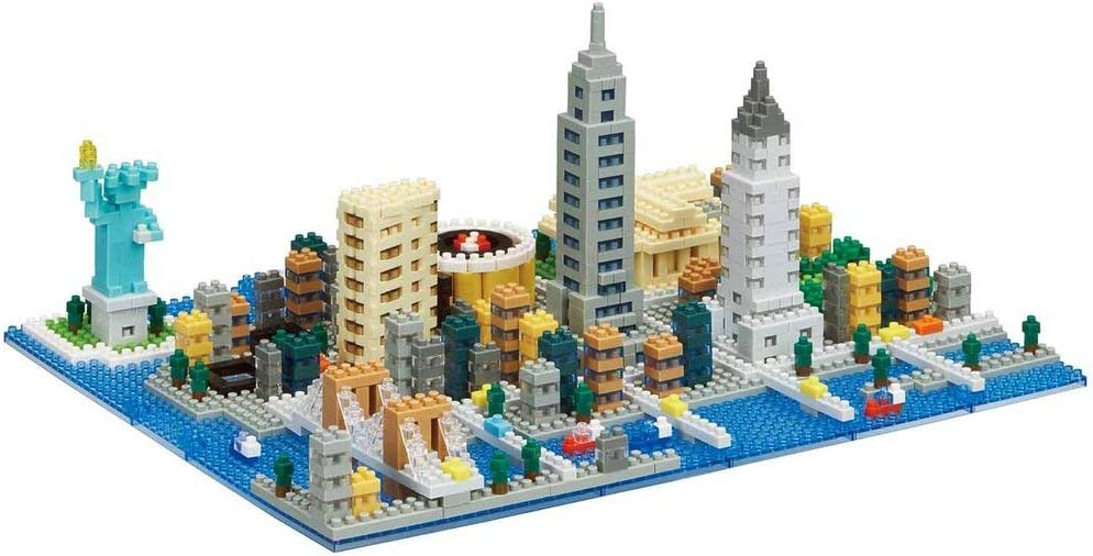 Nanoblock New York Skyline Building Set