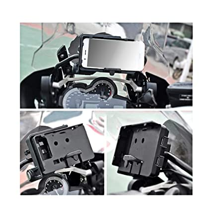 NATGIC Soporte para móvil, BMW, Motocicleta, con Cargador ...