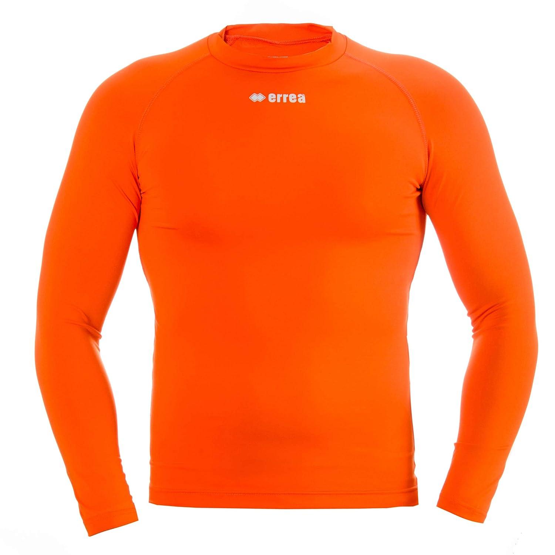 Basso Ermes Compressione Maglietta Funzionale /· Underwear per Ragazzi /& Adulti Unisex Errea Calcio /& Running ECC Arancione TG. S//M /· Universal Allenamento /& Competizione