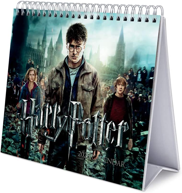 Erik Harry Potter, Calendario de Escritorio, Talla Única, Multicolor