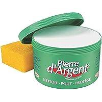 La Pierre d'Argent ® 800 g + Maxi-spons met honingraatstructuur – een natuurproduct op kleibasis: je hebt nooit beter…