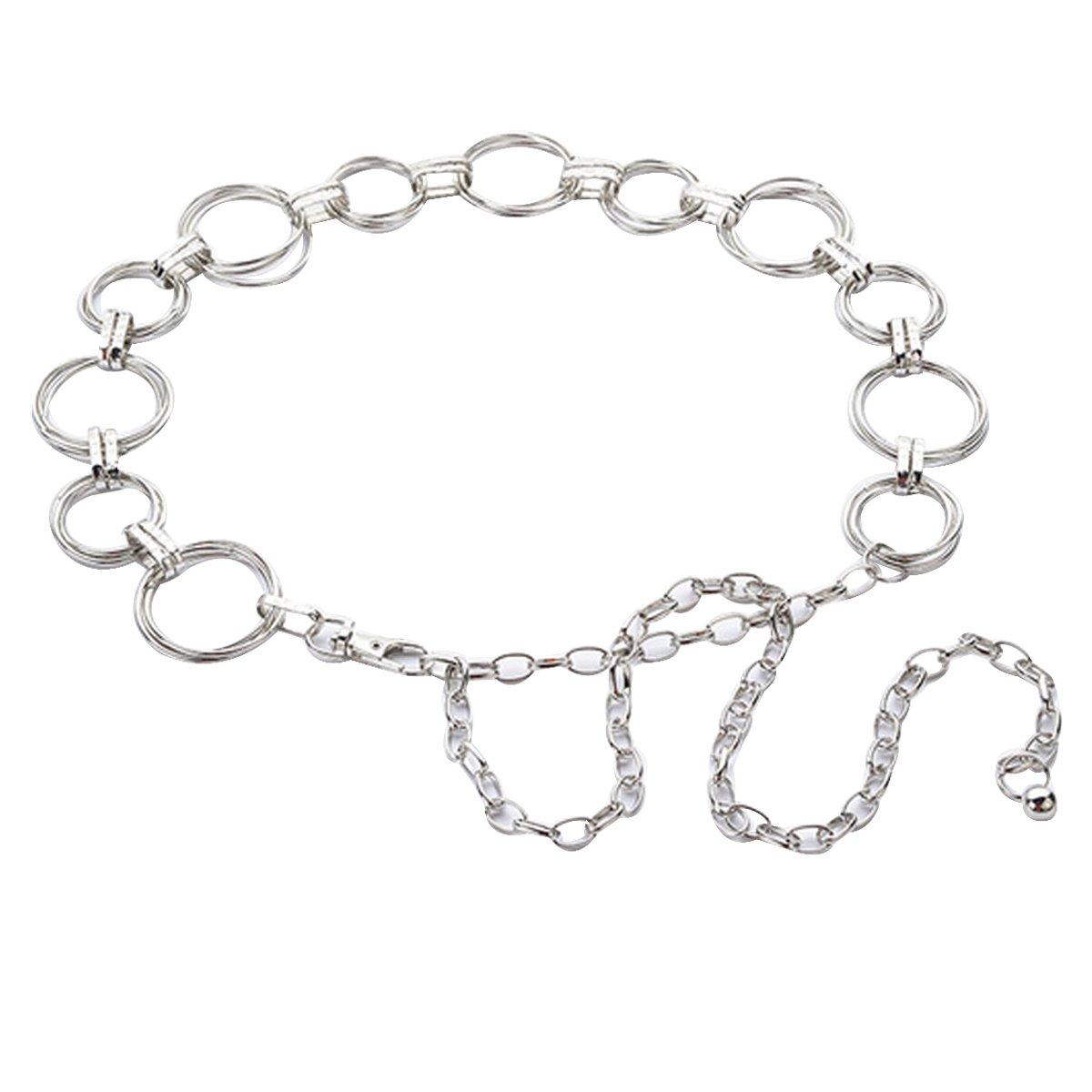 Kennedy Fashion Women Metal Belt Can Adjustable Size Chain Waist Belt For Dress