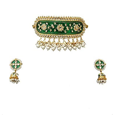 a81872c16aeab Amazon.com: Retailbees Finekraft Meena Kundan Indian Bridal Wedding ...