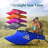 Tickas Outdoor Running Visor Sports Sunlight Shading Cap Jogging Hiking Cycling Marathon Fishing Quick-Drying Sun Visor Hat