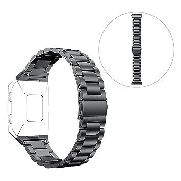 Amazon.com: Reemplazo Fitbit Ionic Reloj Banda Correa ...