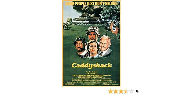 Caddyshack 20x36inch Classic Movie Silk Poster Room Door Decals Art Print