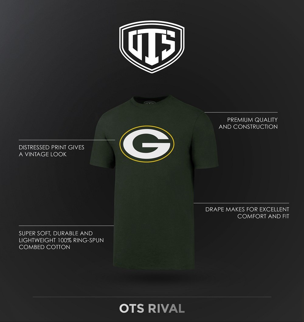 Amazon.com   OTS NFL Adult Men s Rival Tee   Sports   Outdoors 0696acf7d