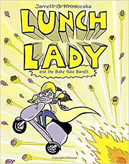 Tripping over the lunch lady book