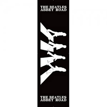 The Beatles Abbey Road Black And White Silhouette Album Cover