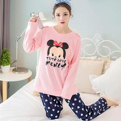 XGBNY Pijamas 2XL Tamaño Grande Pijama Feminino Inverno ...