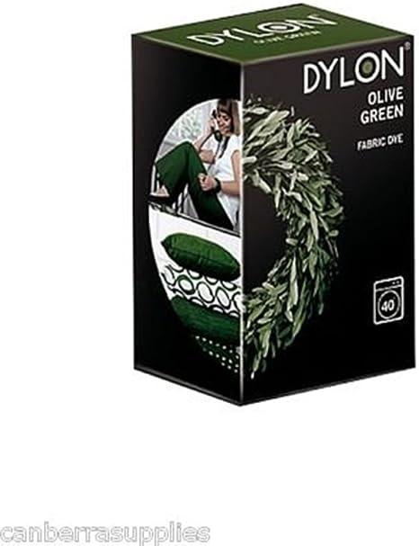 Dylon – Tinte para ropa, color verde oliva: Amazon.es: Hogar