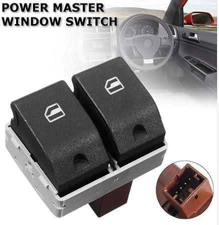 6q0959858 6q0959858a Abs Vorne Elektrische Fensterheber Bedienkonsole Schalter Taste Für Vw Seat Ibiza Cordoba Polo 9n 20012005 Auto