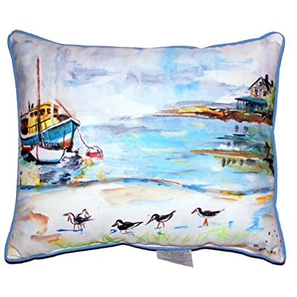 Amazon Com Betsy Drake Polyester Patio Furniture Pillows Zippered