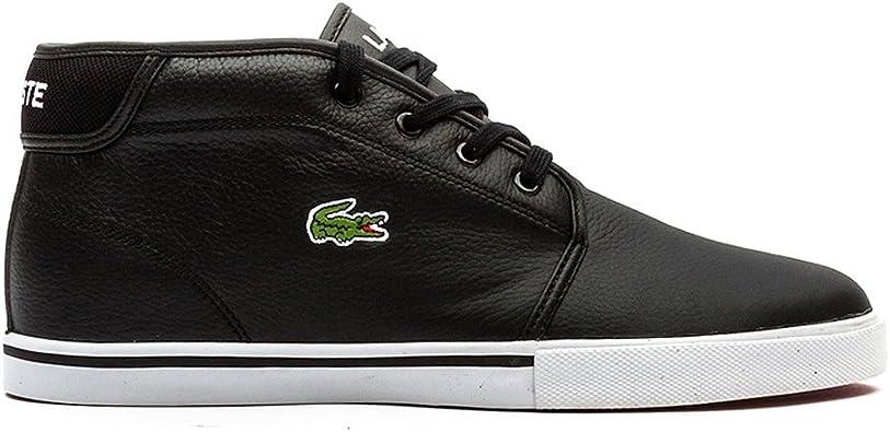 Lacoste Black/Black Leder Size 11.5 US
