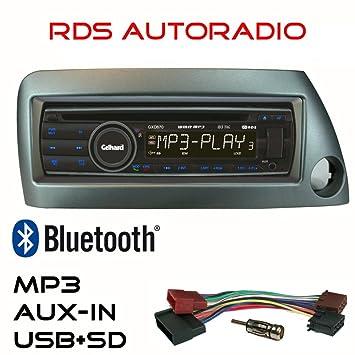 Gelhard Gxd Car Radio With Cd Mp Usb Sd Aux Bluetooth In