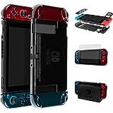 LEHOO Funda de Nintendo Switch, Ajusta la estación de Acoplamiento, Cubierto Protector para Nintendo Switch (Negro)