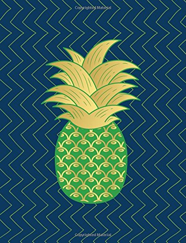 Tropical Notebook: Blue Gold Pineapple Composition Notebook Trendy Journal Diary and Planner for Students, Kids and Adults(8.5 x 11 inch) (Trendy Gifts) pdf