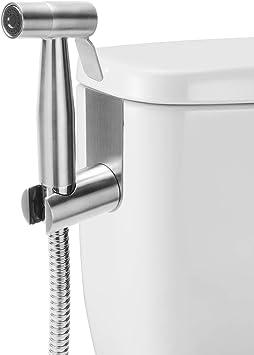 Livingbasics Handheld Bidet Sprayer Complete Bidet Set For Toilet Hand Bidet Sprayer For Beday Toilet 304 Stainless Steel Bidet Attachments Amazon Canada