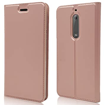 various colors 0b4be 07388 Nokia 5 Case,Grandoin Premium New Style Leather [Ultra-slim] Flip Wallet  Case With PU TPU Shockproof Inner Shell [With Card Slot] [Magnetic Closure]  ...