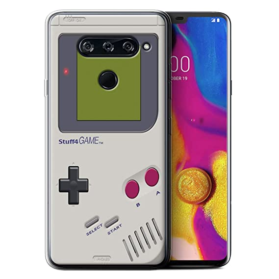 size 40 6185d 57286 eSwish Gel TPU Phone Case/Cover for LG V40 ThinQ/Nintendo Game Boy  Design/Games Console Collection