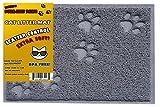 BPA Free Premium Cat Litter Mat - Food Mat - Medium - Best Quality Cat Litter Mat Catcher Trapper with Scatter Control - Waterproof Litter Mat-Odor Repelling- Soft on Cats Paws