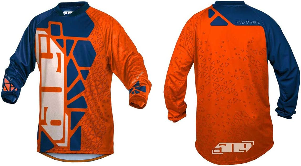 Cyan//Navy Hextant - X-Large 509 Ridge Jersey