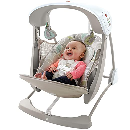 e09186d5c Amazon.com   Fisher-Price Deluxe Take Along Swing and Seat   Baby