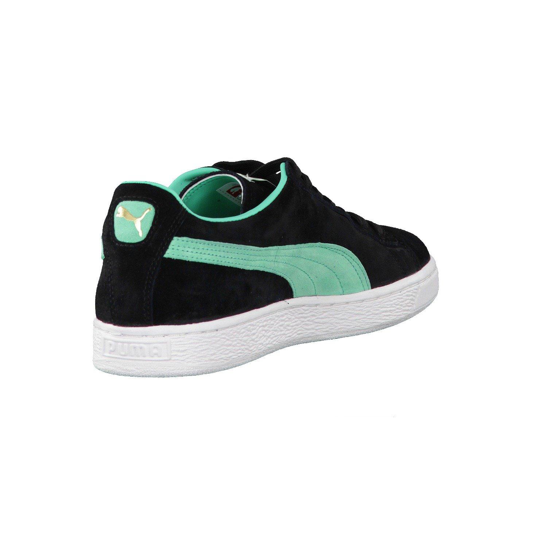 Puma Suede Classic + Sneaker Black Electric Gree